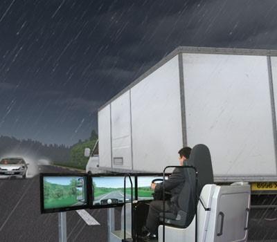 Evenkit simulateur de conduite poids lourd